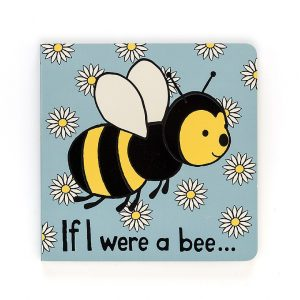 If I Were A Bee Board Book - Jellycat