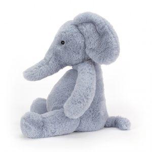 Jellycat Puffles Elephant - Medium, 32 x 26 cm