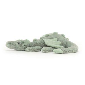 Jellycat Sage Dragon - 7 x 26 cm, Little