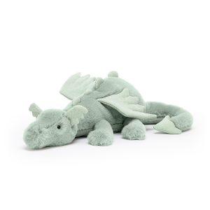 Jellycat Sage Dragon - 12 x 50 cm, Medium