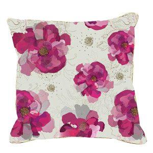 Turnowsky Pink Peony Cushion