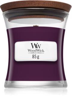 WoodWick Dark Poppy Mini Hourglass Candle, 85g
