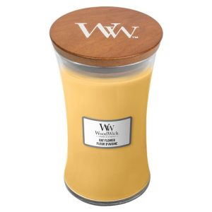 WoodWick Oat Flower Large Hourglass Candle, 604g