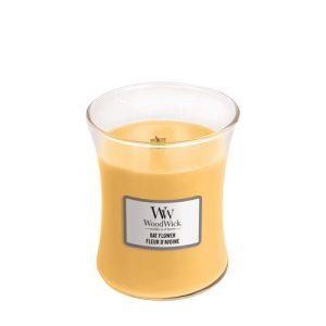 WoodWick Oat Flower Medium Hourglass Candle, 275g