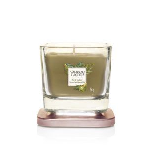 Yankee Candle Elevation Collection - Pear & Tea Leaf - Small 1-Wick Square Candle
