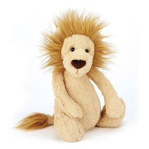 Jellycat Bashful Lion - Small, 18 x 9 cm