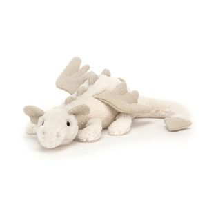 Jellycat Snow Dragon - Little, 26 cm