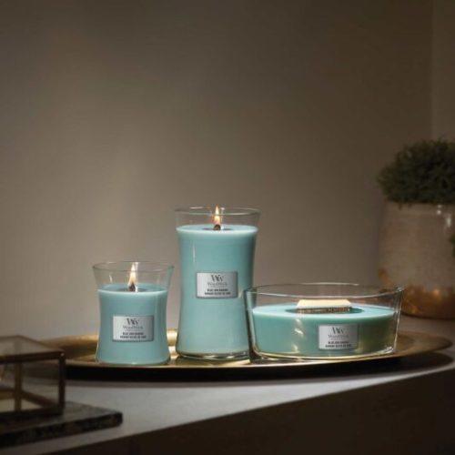 WoodWick Blue Java Banana Medium Hourglass Candle, 275g