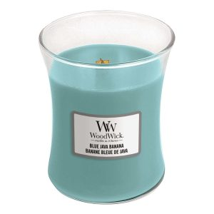 WoodWick Blue Java Banana Medium Hourglass Candle, 275g