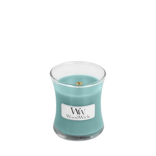 WoodWick Blue Java Banana Mini Hourglass Candle, 85g