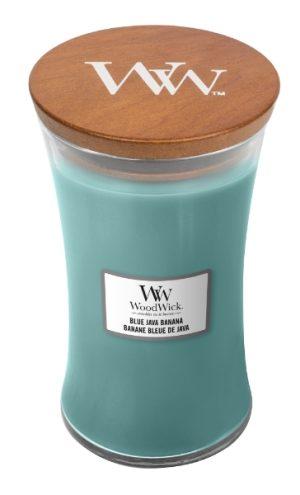 WoodWick Blue Java Banana Large Hourglass Candle, 604g