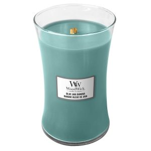 WoodWick Blue Java Banana Large Hourglass Candle, 604g