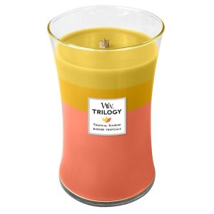 WoodWick Tropical Sunrise Trilogy Large Hourglass Candle