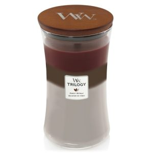 WoodWick Forest Retreat Trilogy Large Hourglass Candle