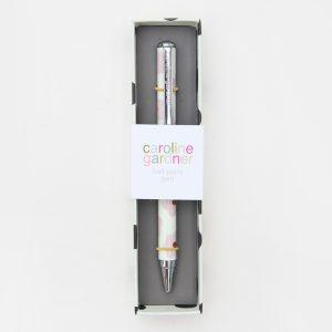 Caroline Gardner Daisy Spot Boxed Pen - PEN114