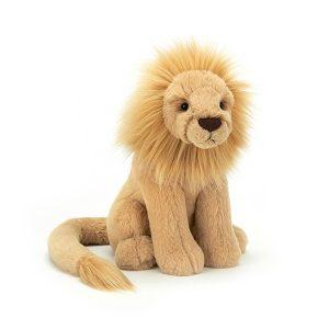 Jellycat Leonardo Lion - Medium, 26 x 14 cm