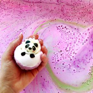 Bear With Me Panda Bath Bomb, 160g - Bomb Cosmetics