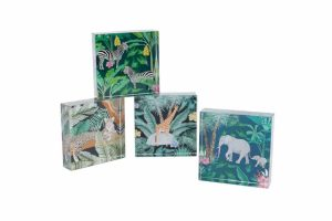 Jungle Animals Paperweights Set of 4