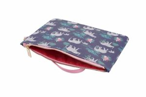 Jungle Elephant Beauty Bag