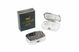Jungle Leopard Print Pill Box