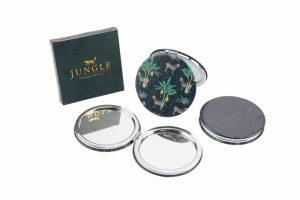 Jungle Zebra Compact Mirror