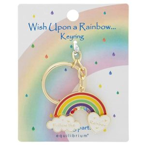 'Follow The Rainbow' Keyring - Wish Upon a Rainbow