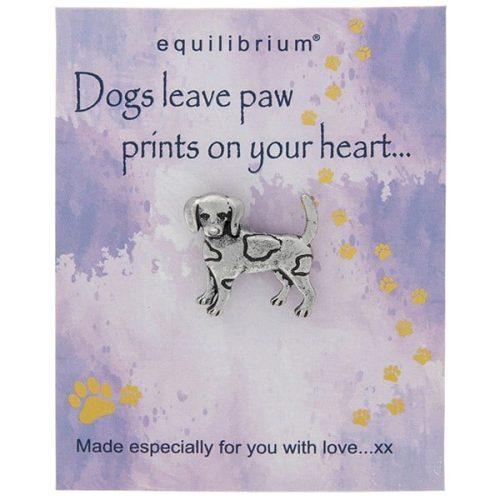 Natural World Dog Pin - Equilibrium