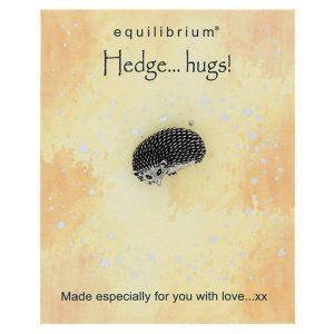 Natural World Hedgehog Pin - Equilibrium