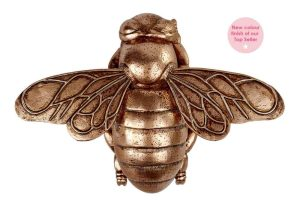 Rose Gold Bumble Bee Ornament - Langs