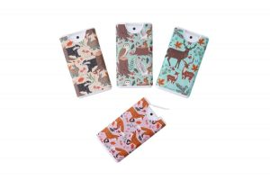 Fox and Fern Woodland Animals Hand Sanitiser Set of 4