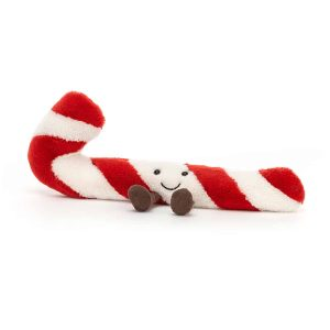 Jellycat Amuseable Candy Cane, Little - 7 x 12 cm