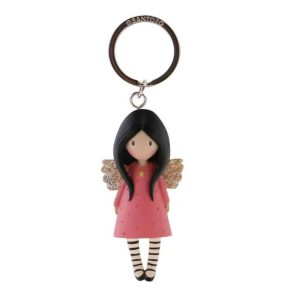 Santoro Gorjuss Moulded Key Ring Little Wings