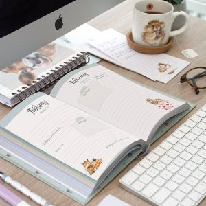 2022 Hardback Desk Diary - Wrendale Designs