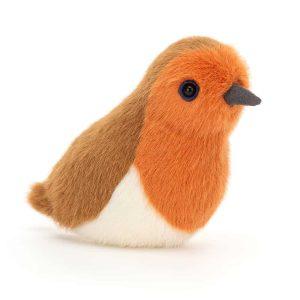 Jellycat Birdling Robin, 10 x7 cm