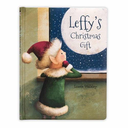 Leffy's Christmas Gift Story Book - Jellycat
