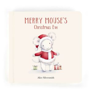Merry Mouse's Christmas Eve Story Book - Jellycat