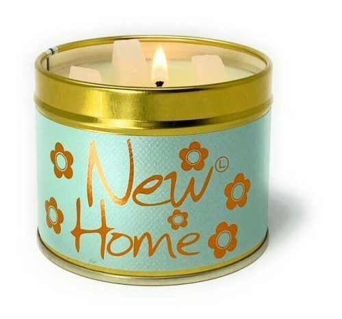 Lily-Flame New Home Scented Candle Tin
