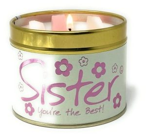 Lily-Flame Sister Scented Candle Tin