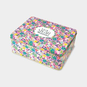 'Very Special Memories' Floral Tin - Rachel Ellen Designs